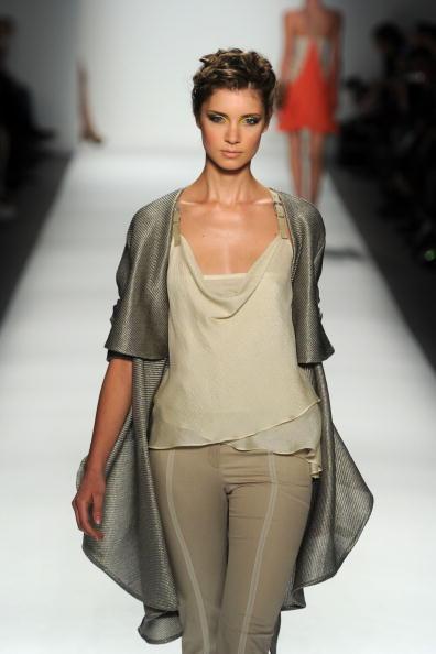 Презентация коллекции от Toni Francesc на Неделе моды Mercedes-Benz в Нью-Йорке. Фото Frazer Harrison/Getty Images for IMG