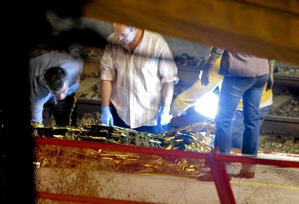 В Испании поезд сбил десятки человек: 12 погибли, 13 пострадали. Фоторепортаж. Фото: JOSEP LAGO/AFP/Getty Images