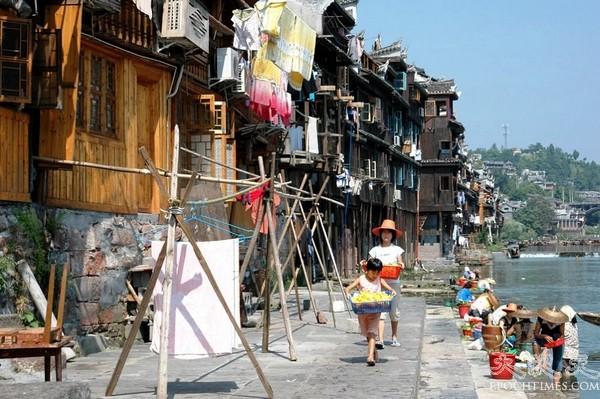 Древний городок Фэнхуан. Фото с epochtimes.com