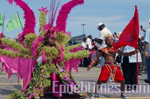 Карибский карнавал в Торонто/Zhouxing/The Epoch Times