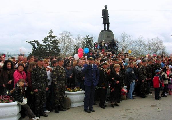 Площадь Нахимова, 1. Фото: Алла Лавриненко/The Epoch Times Украина