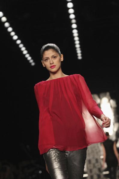 Показ коллекции от Kilian Kerner на Неделе моды Mercedes Benz в Берлине. Фото Gareth Cattermole/Getty Images