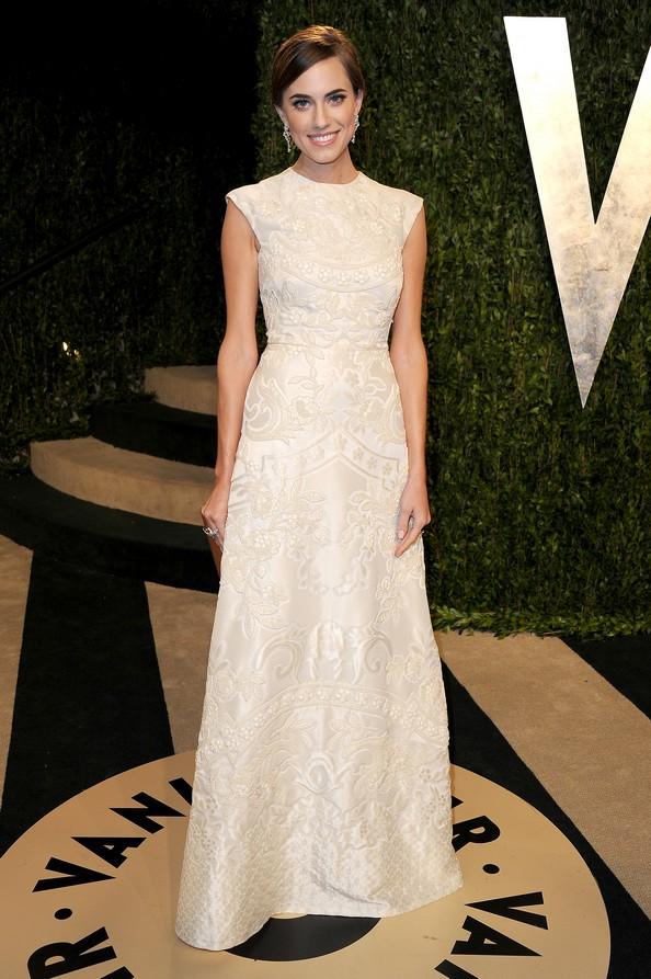 Эллисон Уильямс в платье от Valentino. Фото: Pascal Le Segretain/Getty Images
