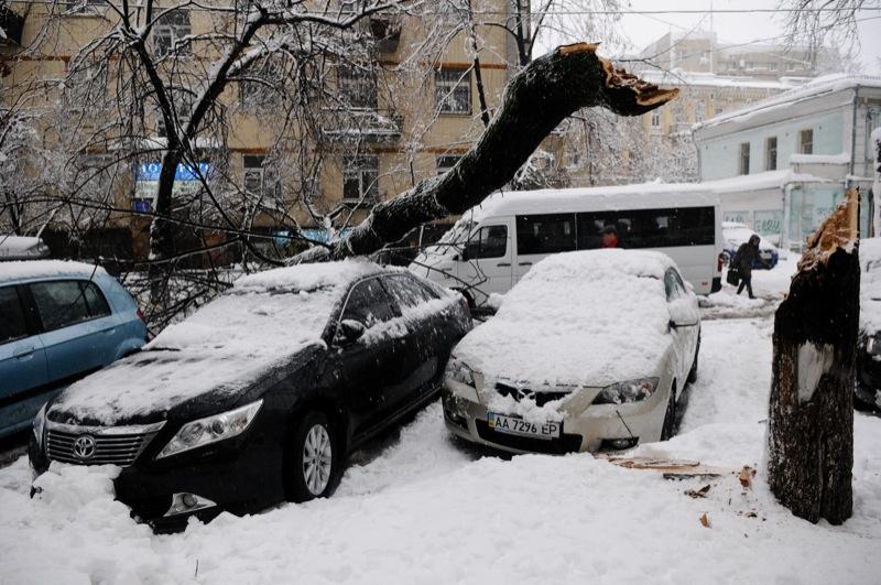 Киев оказался в «черезвычайной ситуации природного характера» из-за обильных осадков. Фото: Владимир Бородин/Великая Эпоха