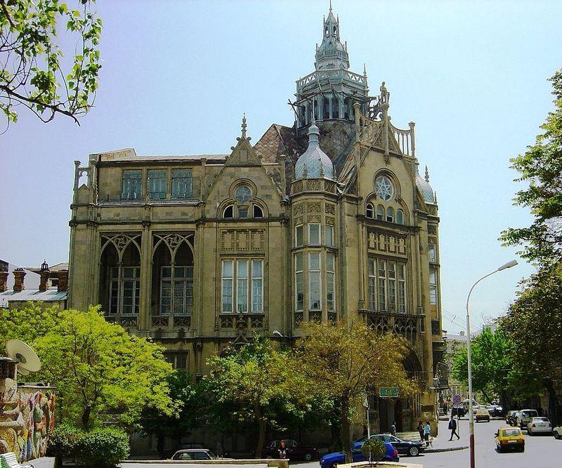 Дворец Мухтарова. Фото: Grandmaster/commons.wikimedia.org
