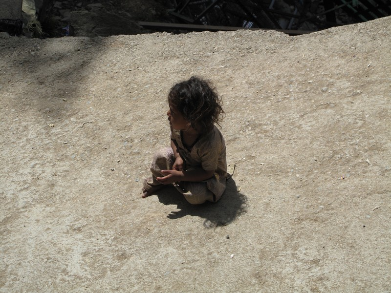 Индийская девочка, город Дармсала. Фото: Игорь Борзаковский/Великая Эпоха