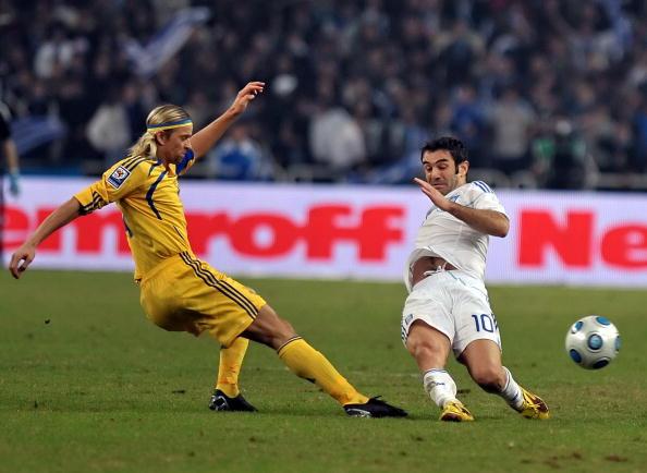Греция - Украина фото:ARIS MESSINIS,LOUISA GOULIAMAKI /Getty Images Sport