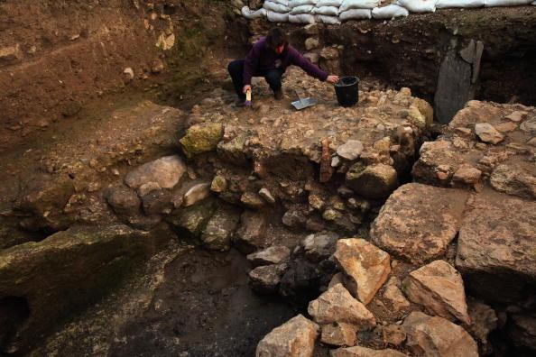 Археологи обнаружили жилой дом в городе Назарет. Он был построен во времена Иисуса. Израиль. Фото: David Silverman/Getty Images