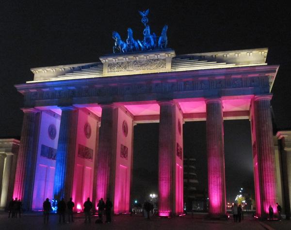Фестиваль света в Берлине. Фото: Ирина Лаврентьева/The Epoch Times