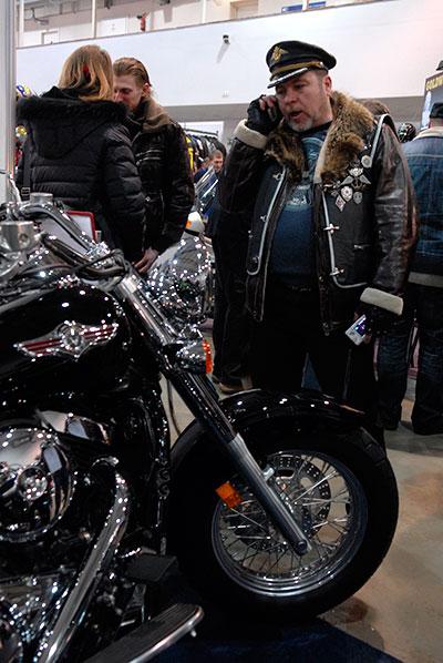 Выставка «Мотобайк 2010» открылась в Киеве 11 марта 2010 года. Фото: Владимир Бородин/The Epoch Times