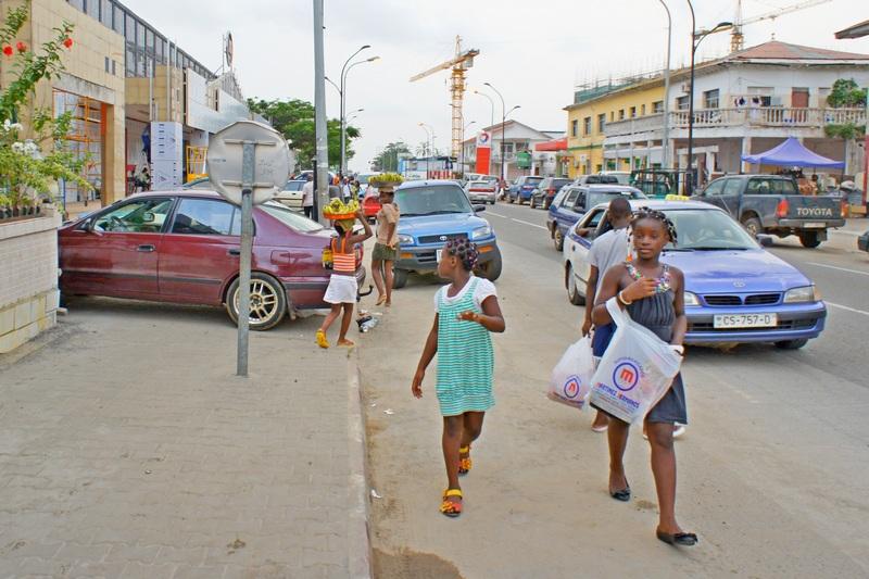 На улице Баты. Фото: Александр Африканец