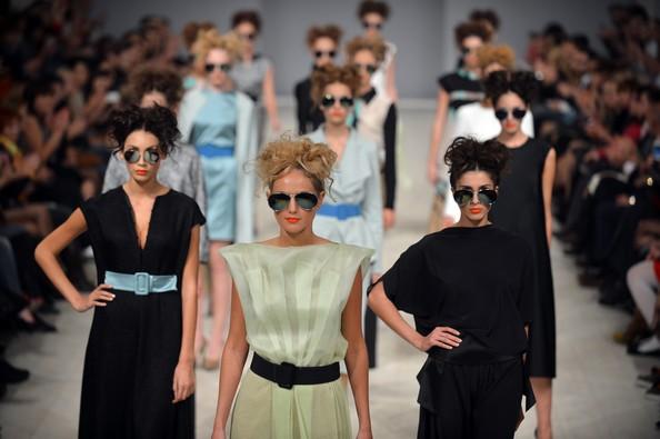31-я Украинская неделя моды (Ukrainian Fashion Week). Фото: SERGEI SUPINSKY/AFP/GettyImages