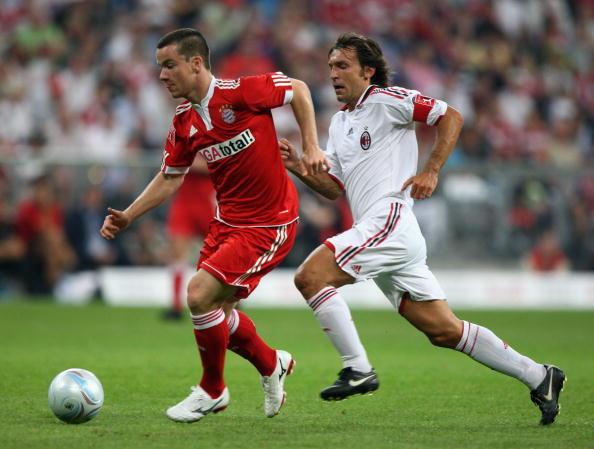 Андреа Пирло,Александер Баумйоханн(Бавария – Милан)