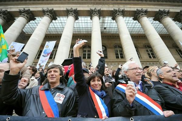 Париж, Франция. Фото:AFP PHOTO / CAROLINE PANKERT