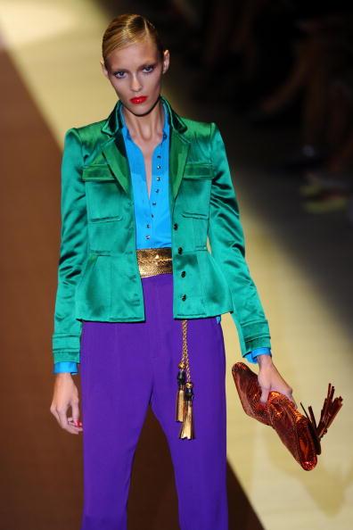 Коллекция Gucci весна-лето 2011 Фото: CHRISTOPHE SIMON/AFP/Getty Images