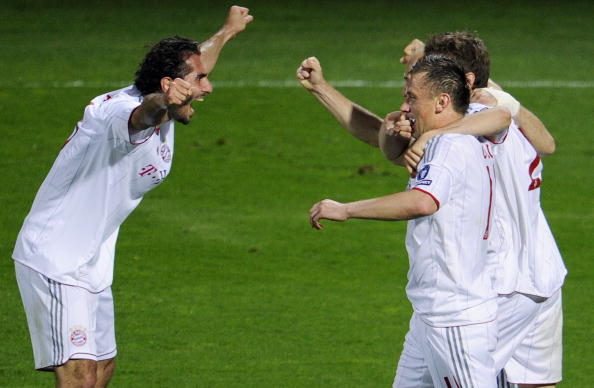 'Лион' - 'Бавария' Фото:Jamie McDonald, Lars Baron /Getty Images Sport