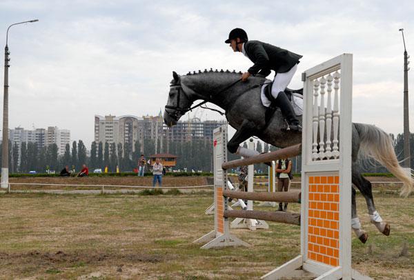Чемпионат Украины по конкуру 2009 в Киеве. Фото: Владимир Бородин/The Epoch Times