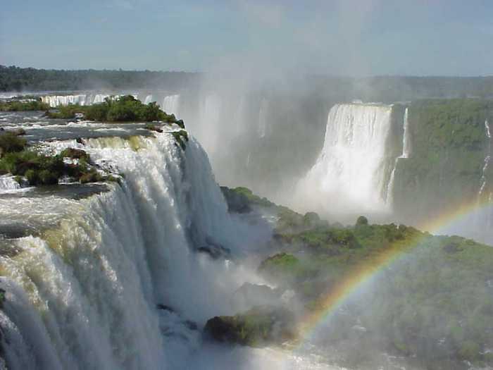 самый большой водопад