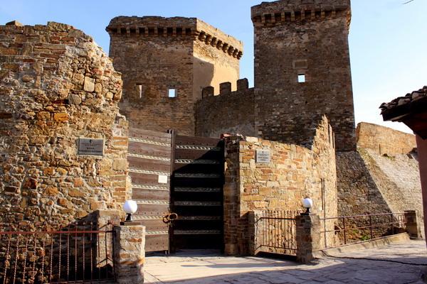 Ворота в крепость. Фото: Ирина Рудская/The Epoch Times Украина