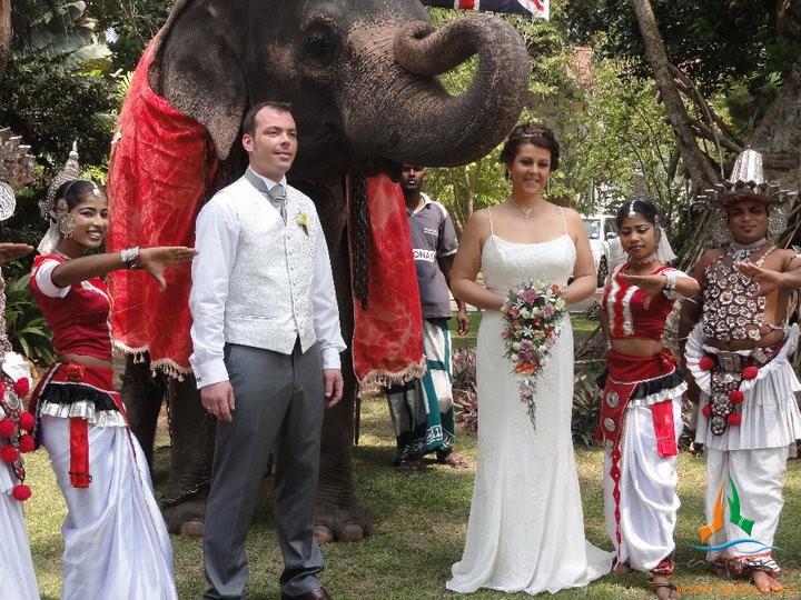 Такая экзотическая свадьба будет незабываемым событием для молодоженов и гостей. Фото: lakpuratravels1/Flickr