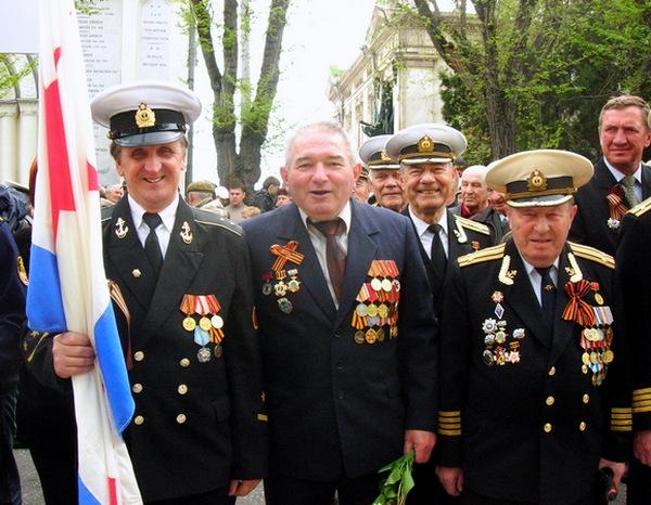 Офицеры бригады ракетных катеров. Фото: Алла Лавриненко/The Epoch Times Украина