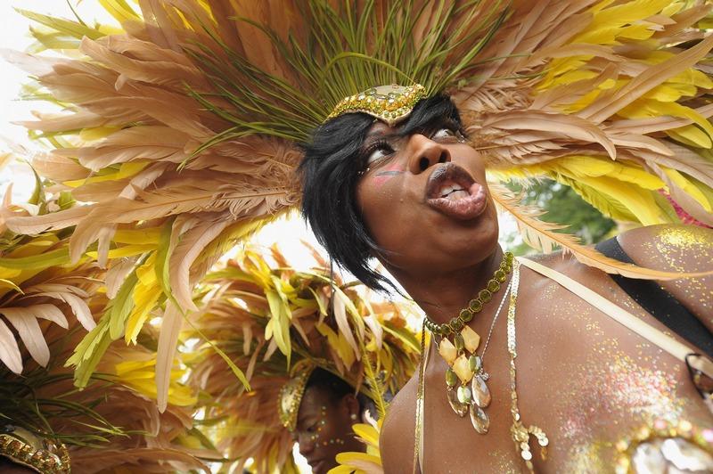 Нью-Йорк, США, 3 сентября. В Бруклине проходит традиционный парад вест-индийской культуры. Фото: Michael Loccisano/Getty Images