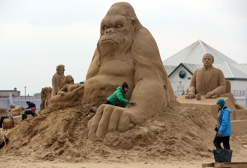 «Кинг-Конг». Фото: Matt Cardy/Getty Images