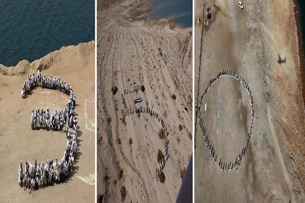 Иордания (слева), Пакистан (в центре) и Израиль (справа). Фото:AFP PHOTO / CAROLINE PANKERT
