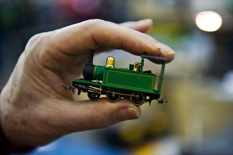 Лондон, Великобритания, 23 марта. Более 100 любителей железнодорожного моделирования представили свои макеты в Александра-палас. Фото: Bethany Clarke/Getty Images