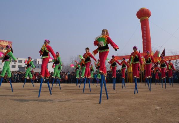 Праздник фонарей Юаньсяо в Китае. Город Цзинань провинции Шаньдун. Фото: AFP