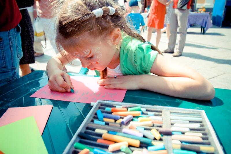 У Києві відзначили Міжнародний день захисту дитини. Фото: Велика Епоха