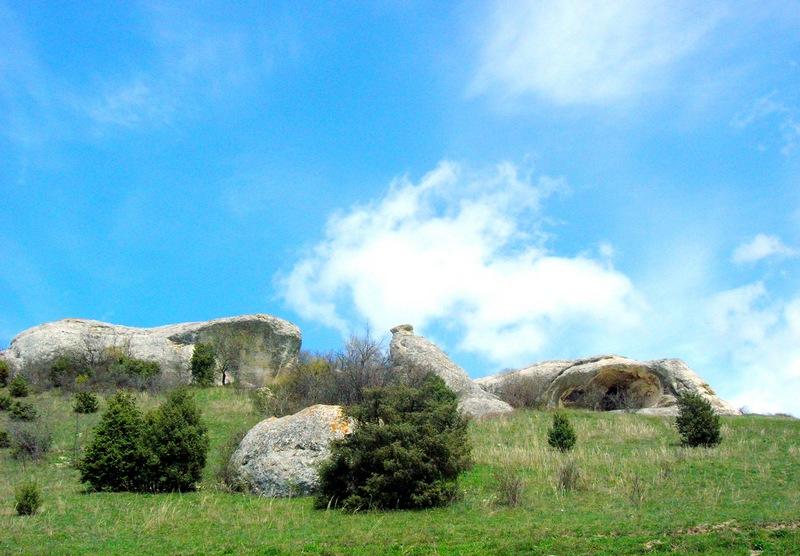 Скалы балки Богаз-Сала. Фото: Алла Лавриненко/Великая Эпоха
