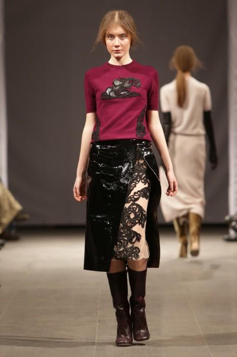 Модели Мариос Шваб. Фото: Кирил Хайлов/fashionweek.kiev.ua