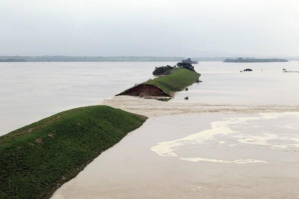 Наводнения в Китае. Июнь 2010 год. Фото: STR/AFP/Getty Images