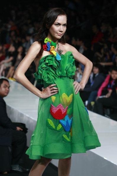 Неделя моды в Джакарте. Фото Ulet Ifansasti/Getty Images for Jakarta Fashion Week