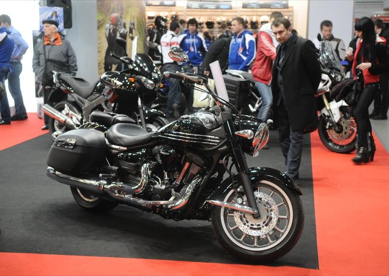 Выставка «Мотобайк 2013» открылась в Киеве 14 марта 2013 года. Фото: Владимир Бородин / Великая Эпоха