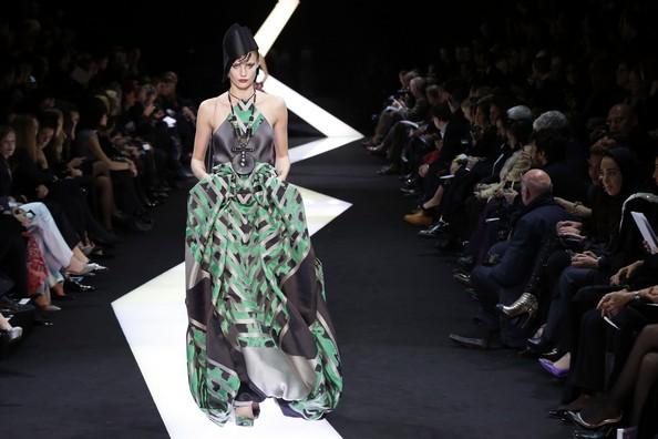 Высокая мода от Armani. Фото: PIERRE VERDY/AFP/Getty Images