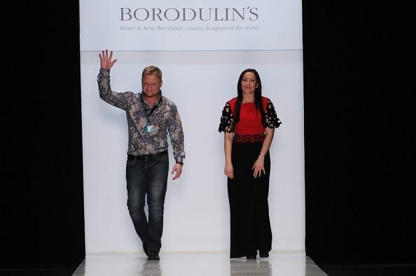 Mercedes-Benz Fashion Week в Москве: коллекция BORODULIN`S. Фото: Pascal Le Segretain/Getty Images for MBFW Russia