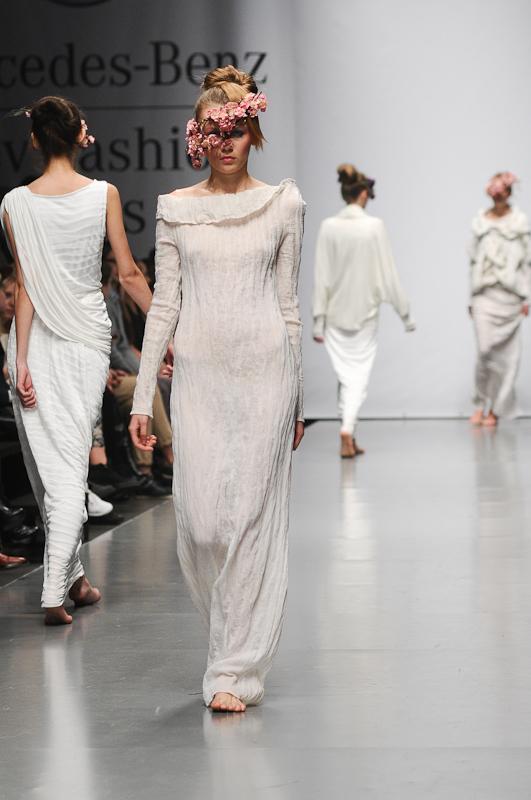 Мария Бех (бренд BEKh) представила коллекцию сезона весна-лето 2013 на Mercedes-Benz Kiev Fashion Days. Фото: Владимир Бородин/Великая Эпоха