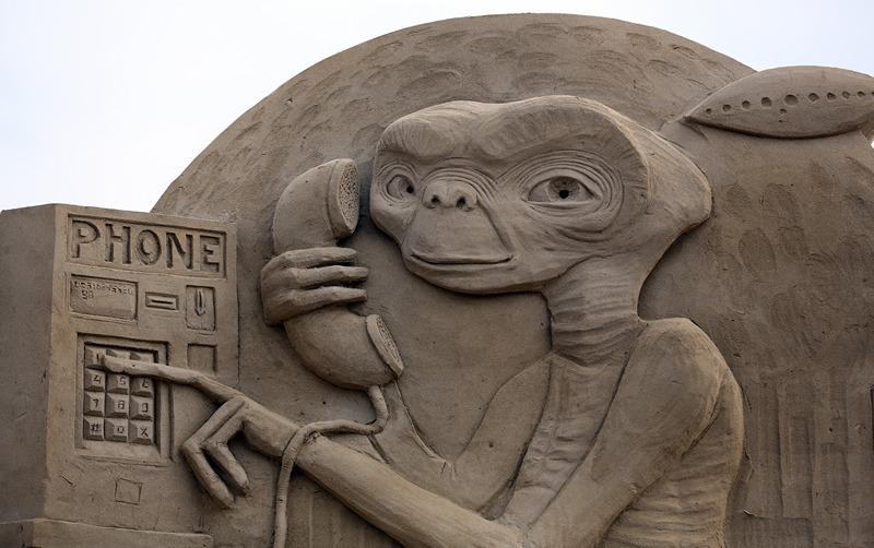 «Инопланетянин». Фото: Matt Cardy/Getty Images