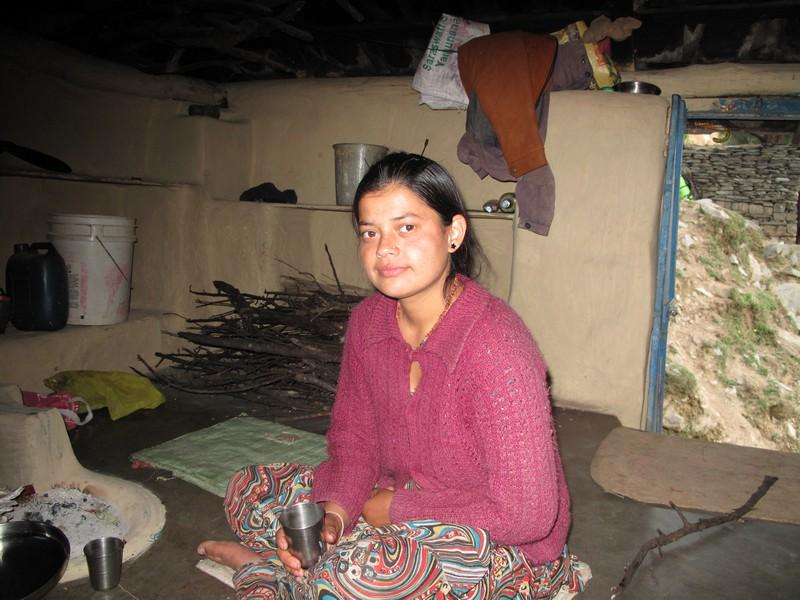 Индийская девушка Сима. Фото: Игорь Борзаковский/Великая Эпоха