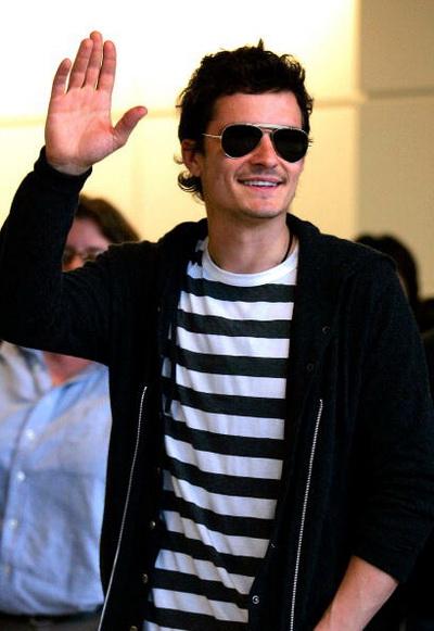 Актер Орландо Блум прибыл в Международный аэропорт в Нирита, Япония. Фото: Koji Watanabe/Getty Images