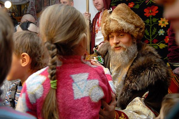 Резиденция Святого Николая открылась в Киеве. Фото: Владимир Бородин/The Epoch Times