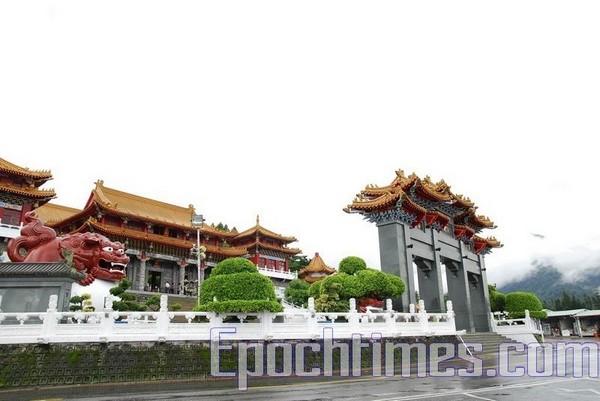 Храм Вэньу. Озеро Жиюетан. Фото: The Epoch Times