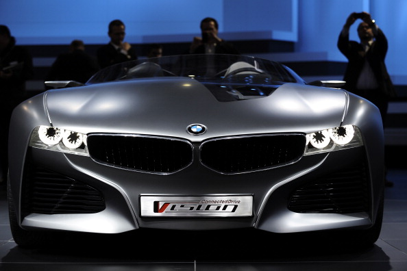 BMW new concept. Фото:FABRICE COFFRINI/Getty Images