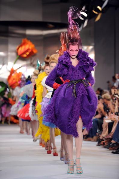 Показ Christian Dior Haute Couture на Неделе моды в Париже. Фото: Pascal Le Segretain/Getty Images