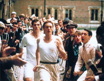 Кадр из фильма «Огненные колесницы». Фото с сайта britannica.com