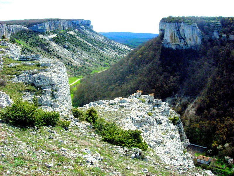 Панорама Бахчисарая. Фото: Алла Лавриненко/Великая Эпоха