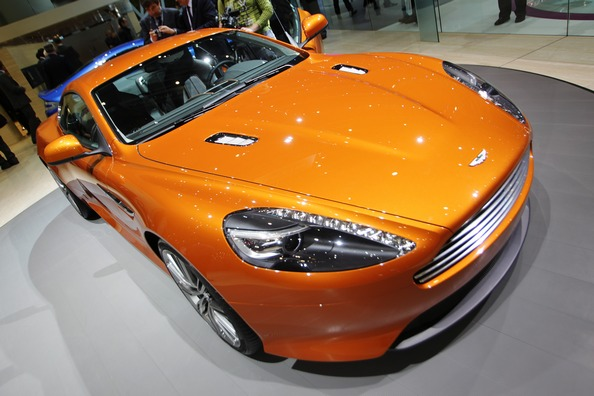 Aston Martin Virage. Фото:SEBASTIAN DERUNGS/Getty Images
