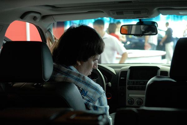 Столичное автошоу проходит в Киеве. Фото: Владимир Бородин/The Epoch Times